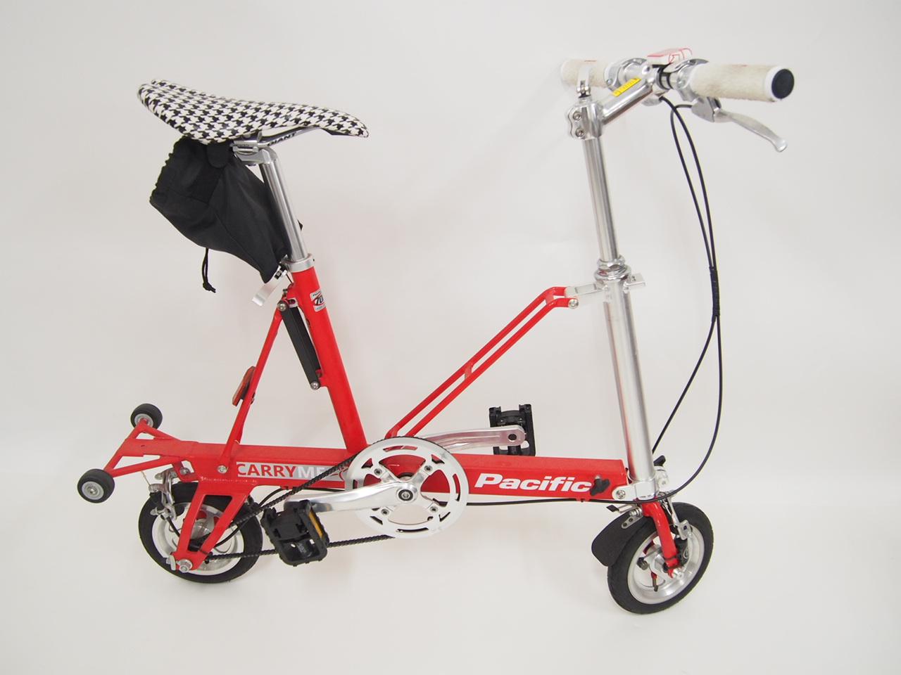 パシフィック社 CARRY ME 折りたたみ自転車 ミニベロ